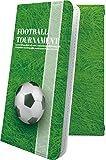 スマートフォンケース・Galaxy A20・互換 ケース 手帳型 個性 サッカー スポーツ ボール リー……