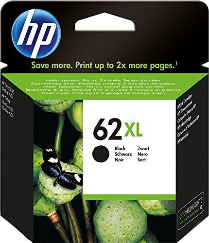 HP 62XL C2P05AE Cartuccia Originale per Stampanti a Getto dInchiostro, Compatibile con Stampanti HP...