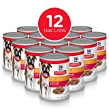 Hill's Science Diet Wet Dog Food, Adult, Light for Weight Management, Liver Recipe, 13 oz Cans, 12-pack