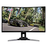 Acer XZ321QU bmijpphzx 31.5' Curved WQHD (2560 x 1440) Monitor with AMD FREESYNC Technology | 1ms | 144Hz Refresh | HDR Ready | (Display Port, Mini Display Port & 2 x HDMI Ports),Black