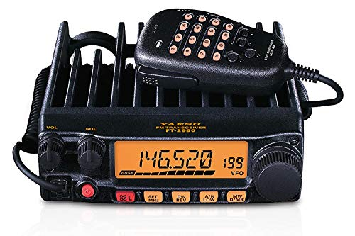 FT-2980R FT-2980 Original Yaesu 144 MHz Single Band Mobile Transceiver 80 Watts - 3 Year Manufacturer Warranty
