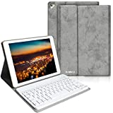 BAIBAO Clavier pour iPad 9.7/2018/Air 2,Clavier Bluetooth pour ipad...