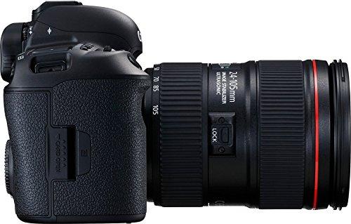 Canon EOS 5D Mark IV 30.4 MP Digital SLR Camera (Black) + EF 24-105mm is II USM Lens Kit 4