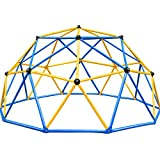Zupapa New Upgraded Outdoor Geometric Dome Climber with 750LBS Weight Capability, 3-Year Warranty with 3D Assembly Video,Suitable for 1-6 Kids Climbing Frame(Blue)