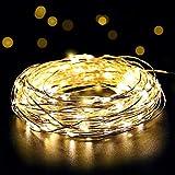 SALCAR coloré LED guirlande lumineuse de 10 mètres / 33 Ft 100 diodes à...