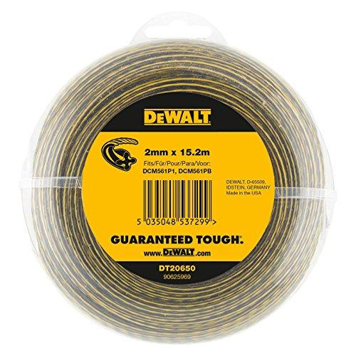 DeWalt DT20650-QZ XRLI-ION Câble électrique de rechange pour débroussailleuses Dewalt DCM561P1/DCM561PB 2x15,2mm 18V