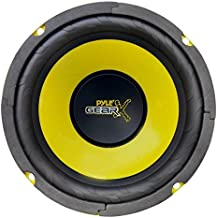 Pyle 6.5 Inch Mid Bass Woofer Sound Speaker System – Pro Loud Range Audio 300 Watt..