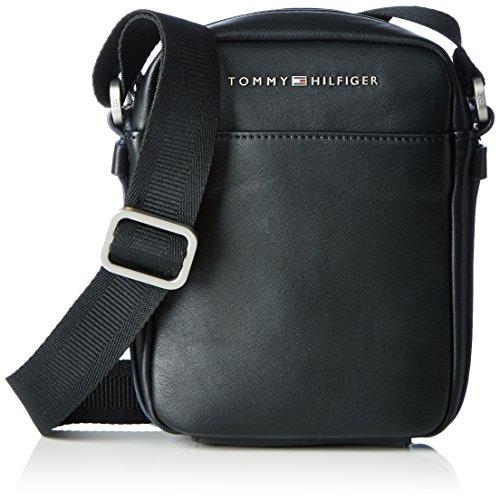 Tommy Hilfiger Herren TH CITY MINI REPORTER Business Tasche Schwarz (Black)