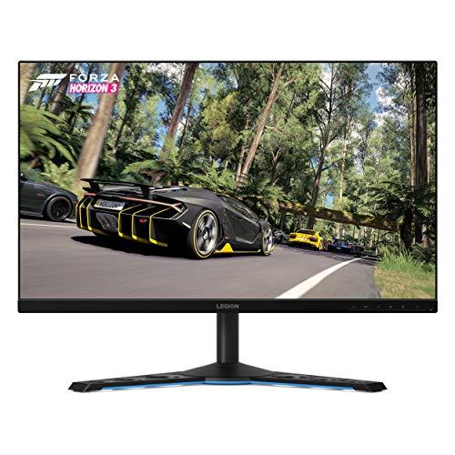 Lenovo Legion Y27gq Monitor Gaming, Display 27' Quad HD IPS G-SYNC , Bordi ultrasottili, Risoluzione 2560x1440, 0,5ms, 240Hz, HDMI, Display Port, USB-C, Black