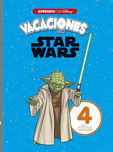 Vacaciones con Star Wars. 4 años (Aprendo con Disney)
