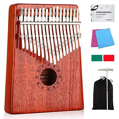 Kalimba Thumb Piano 17 Key Finger Piano Musical Instrument...