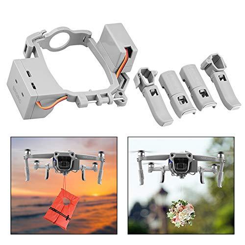 O'woda Airdropper Clip Drone Payload Delivery Dispositivo di Trasporto Drone di Nozze Esca da Pesca Strumento di Ricerca e Salvataggio per Drone e Accessori Mavic Air 2 (Non per Mavic Air)