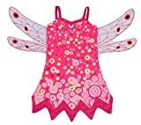 Lito Angels Girls Costume Fairy Fancy Dress Up Halloween Party Outfit w/Wings Size 5/6 Mia