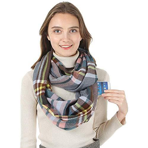 Écharpe infini avec poche zippée invisible imitation cachemire Couleur...