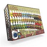 The Army Painter | Warpaints Mega Paint Set, 50 Acrylic Paints and 1...
