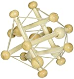 Manhattan Toy Skwish Natural Rattle and Teether Grasping Activity Toy