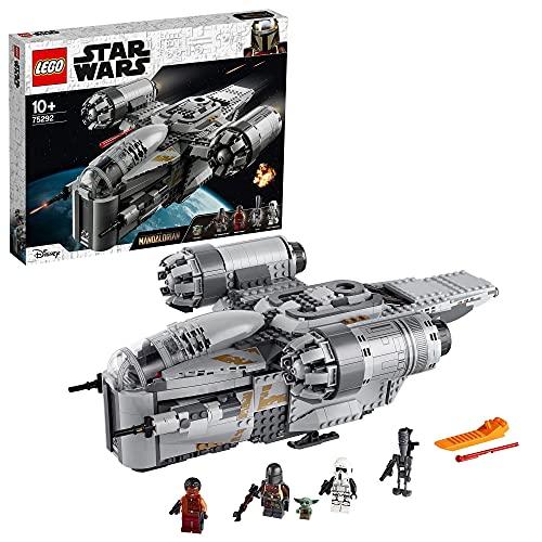 LEGO 75292 Star Wars The Mandalorian The Razor Crest Nave Espacial del Cazarrecompensas Juguete con...