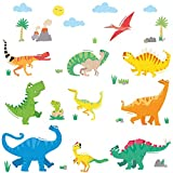 Stickers murali per la cameretta Dinosauri