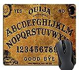 Knseva Non-Slip Rubber Mousepad Ouija Board Mouse Pad Retro Ouija Board Mouse Pad 240mm x 200mm x 3mm