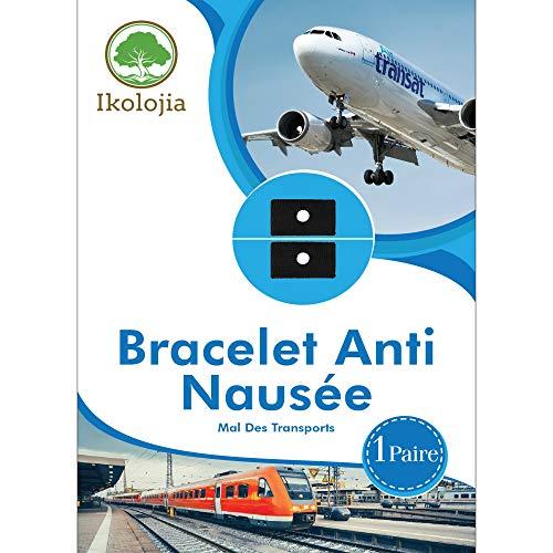 Bracelet Acupression Anti Nausée Mal des Transports [idéal pour les...