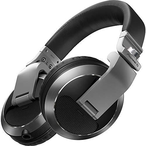 Pioneer HDJ-X7 Silver Circumaural - Headphones Cuffie Professionali per DJ