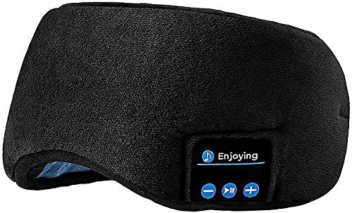 Sleep Headphones Bluetooth Eye Mask, Joseche Wireless...