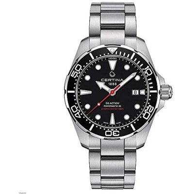 Certina Ds Action Diver Black Dial Automatic Mens Watch C032.407.11.051.00