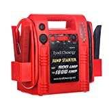 Tyrell Chenergy 1800/900 Peak Amp 12V/24V Jump Starter, Truck Battery Booster Pack, and Commercial Jumper Cables,Includes DC/USB Power for Charging Phones and Tablets,Jump Box Battery Clamps