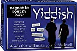 Magnetic Poetry - Yiddish Kit - Words for Refrigerator - Write Poems and Letters on The Fridge - Made in The USA