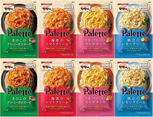 【Amazon.co.jp限定】 マ・マーPalette あえるだけパスタソース 4種×2袋 詰め合わせセット