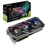 ASUS ROG STRIX NVIDIA GeForce RTX 3070 Gaming Graphics Card (PCIe 4.0, 8GB GDDR6, HDMI 2.1, DisplayPort 1.4a, Axial-Tech Fan Design, 2.9-Slot, Super Alloy Power II, GPU Tweak II)