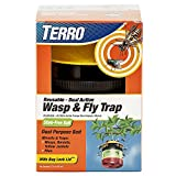 Terro T512 Wasp and Fly Reusable Trap, 1 Pack