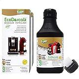 EcoDescalk Ecológico Concentrado (2x9 Descalcificaciones). Descalcificador 100% Natural. Limpiador para Cafeteras. Todas Las Marcas. Producto CE.