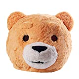 Plush Teddy Bear Animal Mask Mascot Head Bear Costume Halloween Christmas Dress