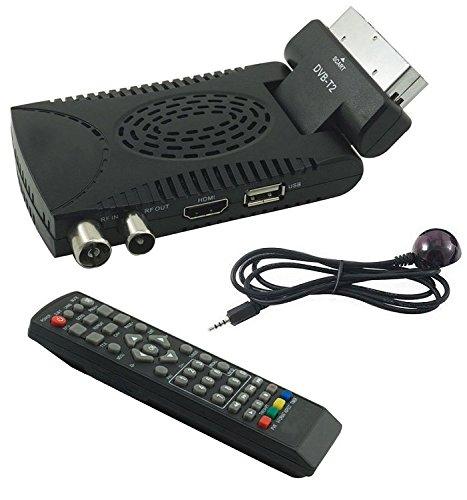 tempo di saldi Decoder Digitale Terrestre HD Mini Dvb T2 USB Hdmi Presa Scart 180° Televisione