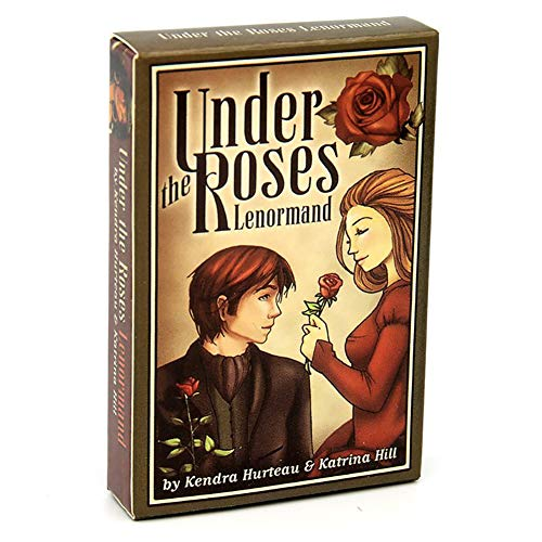 Under The Roses Lenormand Oracle Cards Deck Full English...