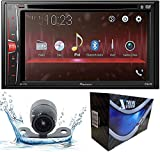 Pioneer AVH-210EX Double DIN Bluetooth in-Dash DVD/CD/AM/FM/Digital Media Car Stereo Receiver with Xtremevision HD Backup Camera
