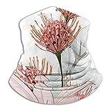 hfdff Bandana Rave Mascarilla Mujeres Hombres Tropical Protea Flor Ficus para Polvo Viento Proteccin Solar