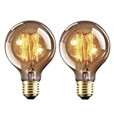 Ampoule Edison E27 Dimmable Vintage Lampe 40W Edison Antique Filament...