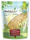 Farine Des Graines de Lin Doré Moulue Bio, 1 Livre - Moulues à Froid, Sans OGM, Casher, Crues, En Vrac