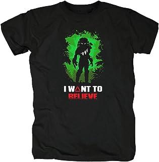 TSP Predator I Want to Believe Camiseta para Hombre