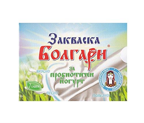 """Joghurtferment""""BOLGARI"""" - 7 Beutel gefriergetrocknete Starterkulturen für Joghurt mit Lactobacillus rhamnosus"""