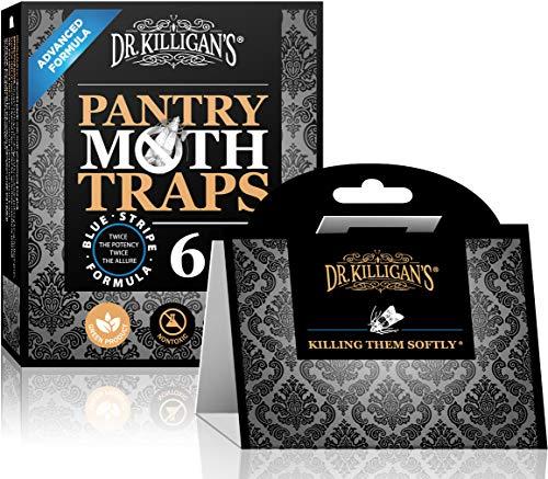 Dr. Killigan's Premium Pantry Moth Traps with Pheromones Prime   Safe,...