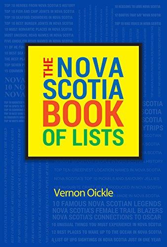 Nova Scotia Book of Lists (Paperback)