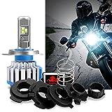 WinPower H4/Ba20d/H6M/P15D25-3 Moto Phares Ampoules Cree LED 40/35W...