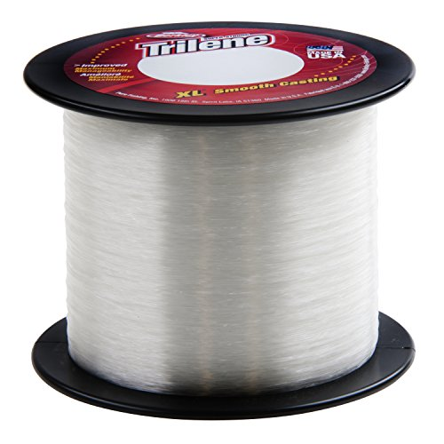 Trilene XL Smooth Casting Service Spools - Clear Fishing Line - 8 lb. Test