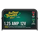 Battery Tender Plus 12V Battery Charger and Maintainer: 1.25 AMP Powersport Battery Charger and...
