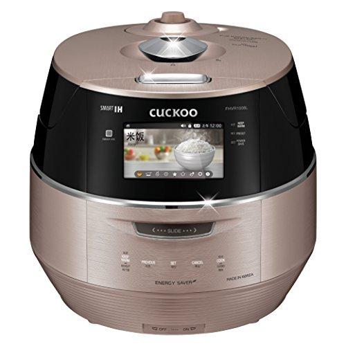 Kuckuck crp-fhvr1008l Edelstahl 3.0Full LCD-Smart Induction Heizung Druck Elektrischer Reiskocher, Pink Gold von Kuckuck