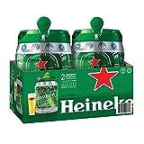 Heineken DraughtKeg Confezione da 2 Fusti con Erogatori da 5 Litri Ciascuno