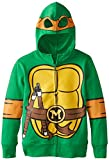 Nickelodeon Big Boys' Teenage Mutant Ninja Turtles Costume Hoodie, Shell Green, Large